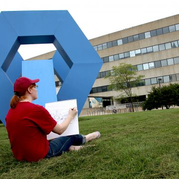 ISU students are Artists Next Door at Iowa State F