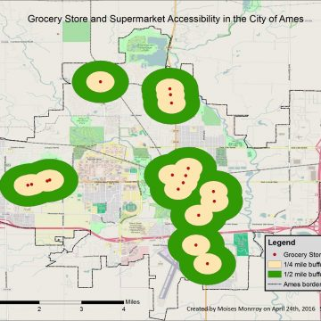 Grocery Store & Supermarket Accessibility Map