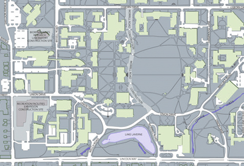 Iowa State Campus Map Maps and Information : Iowa State University College of Design