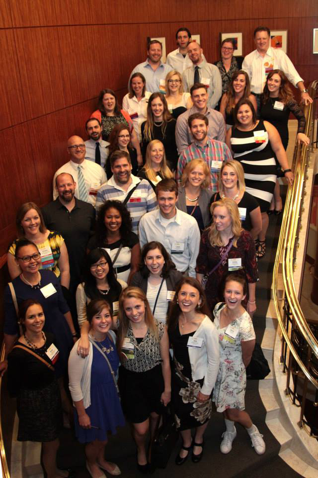 BPMI students and alumni at the 2015 AMI Meeting