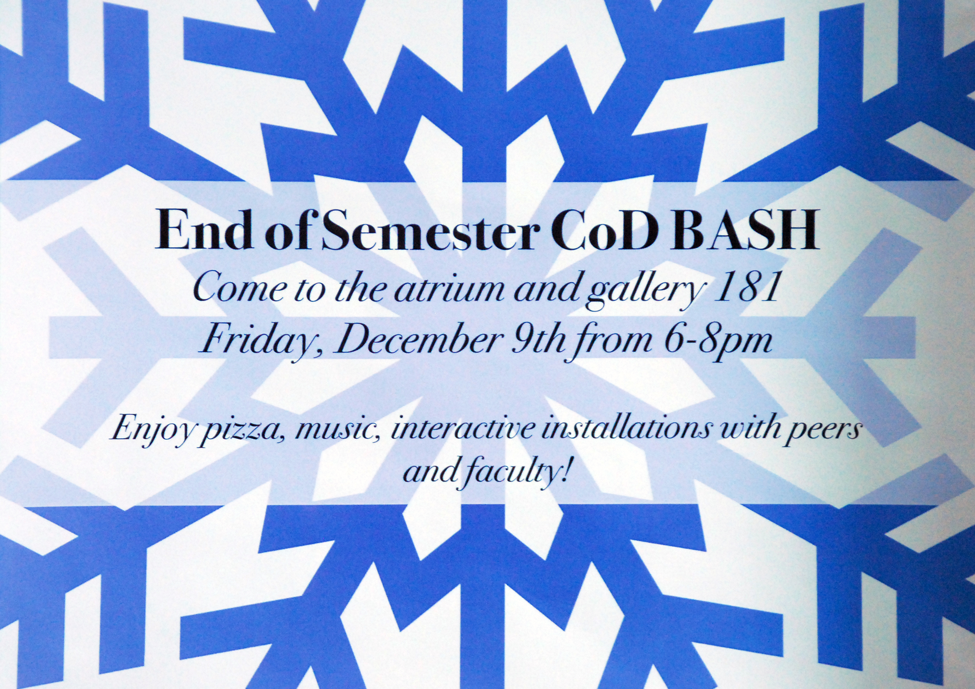 End of Semester Bash