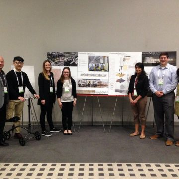 Student team participates in healthcare design cha