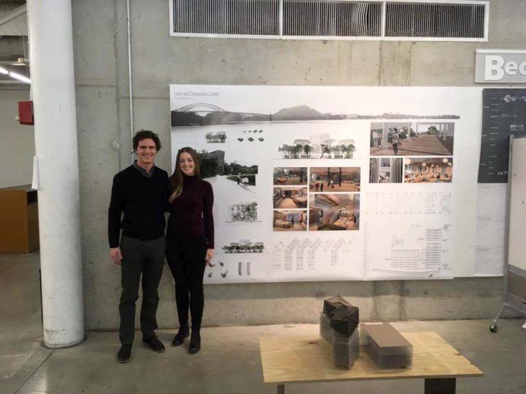 CSI competition winners Connor Yocum & Catherine McClurg