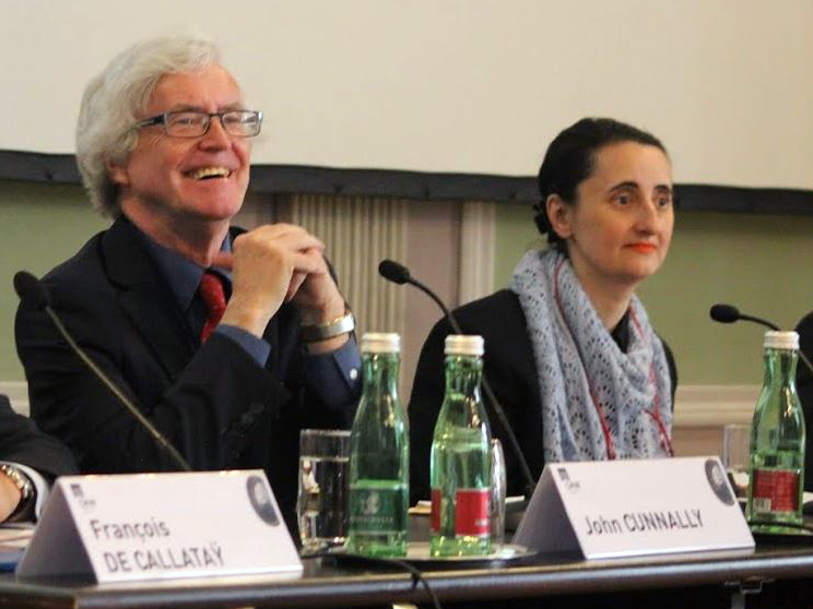 John Cunnally in Vienna 2015