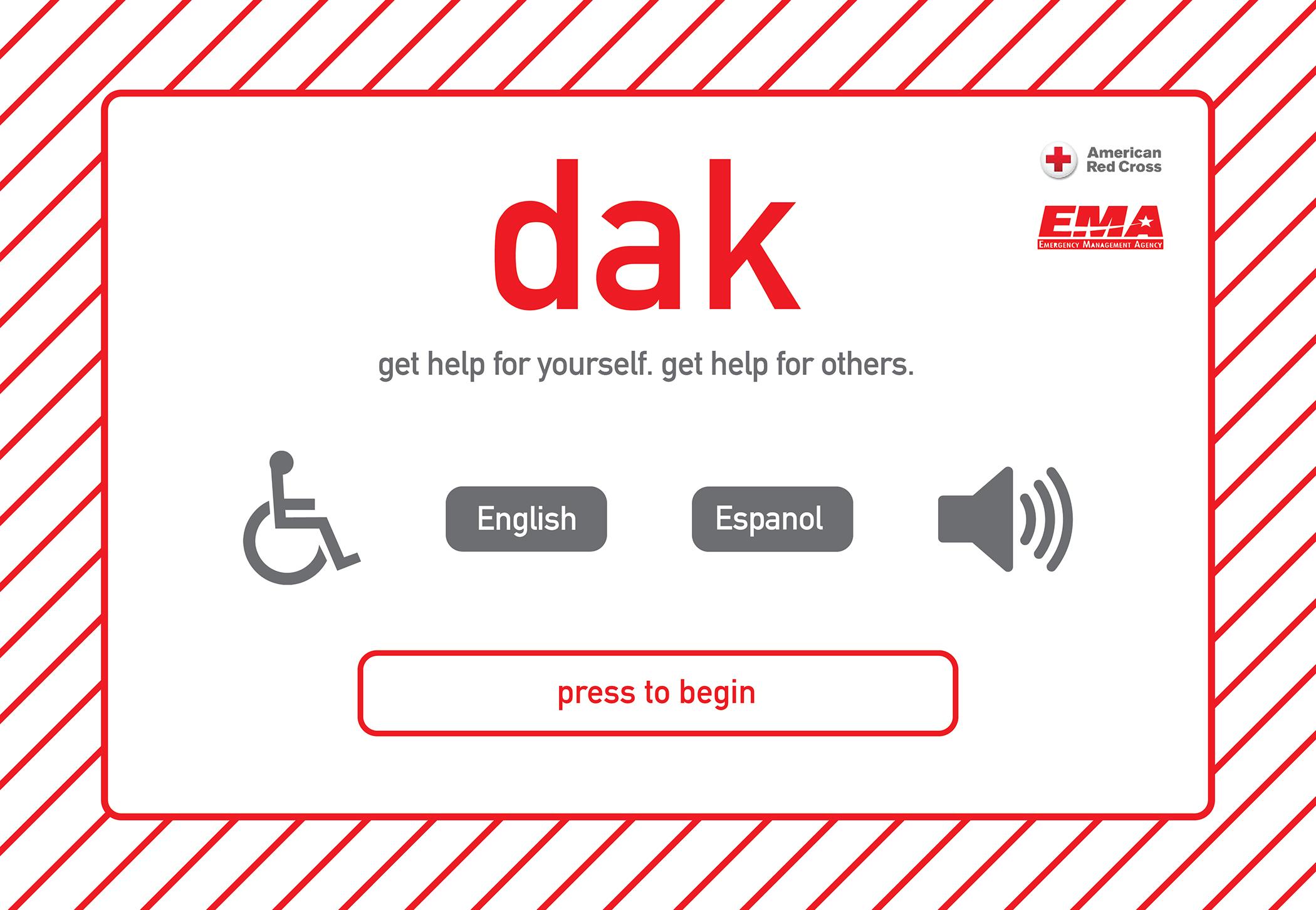 DAK-homescreen