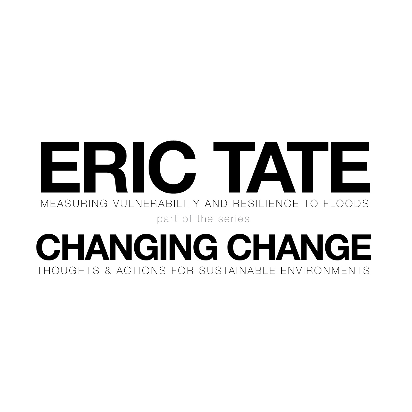 Eric Tate lecture