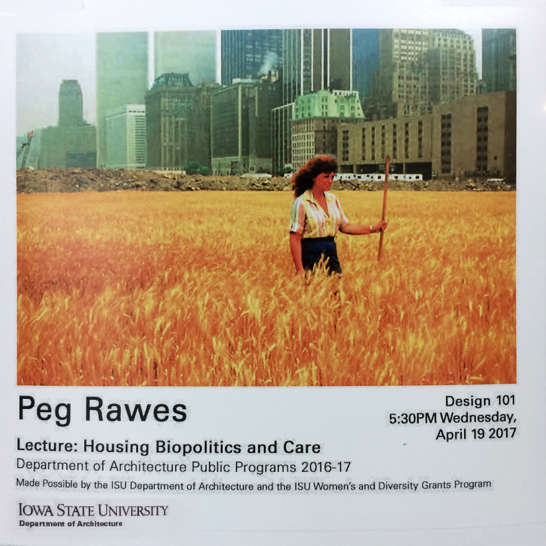 Peg Rawes Lecture
