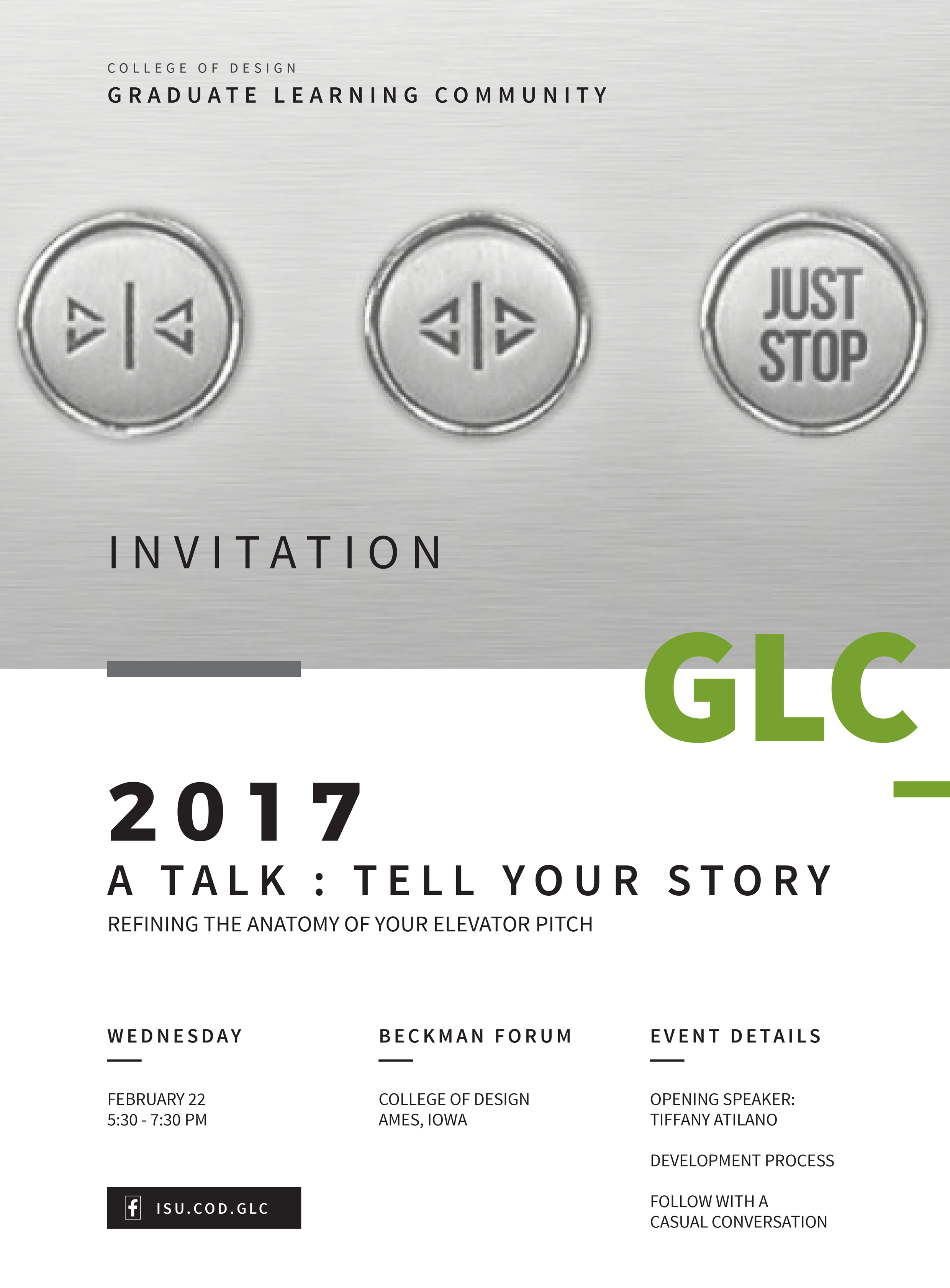 A Talk: Tell Your Story