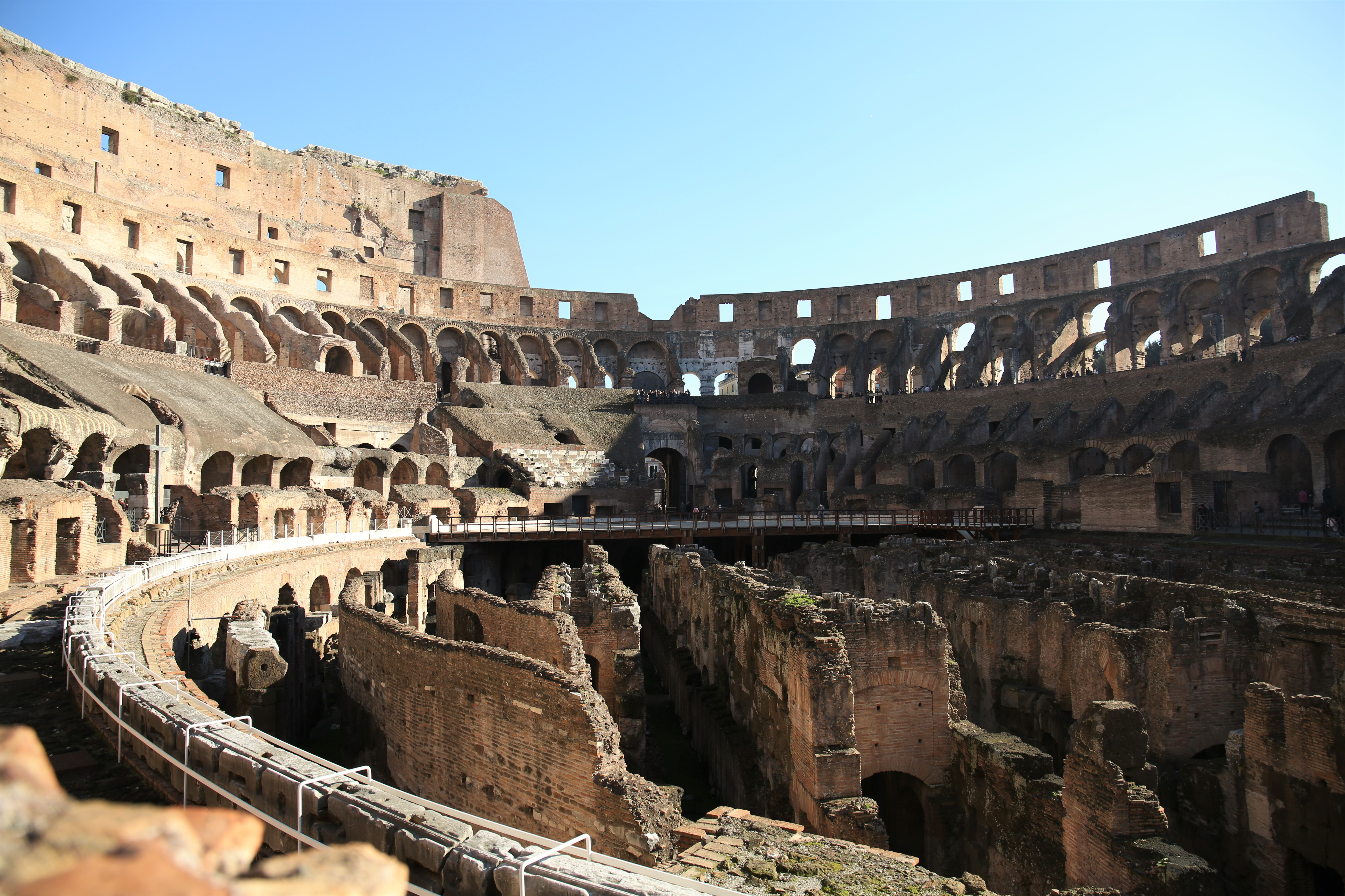 The Colosseum, Roma, Italy, photo by Claire Smith