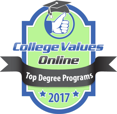 College Values Online Top Degree Programs 2017