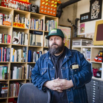 Graphic designer Aaron Draplin to share 'the