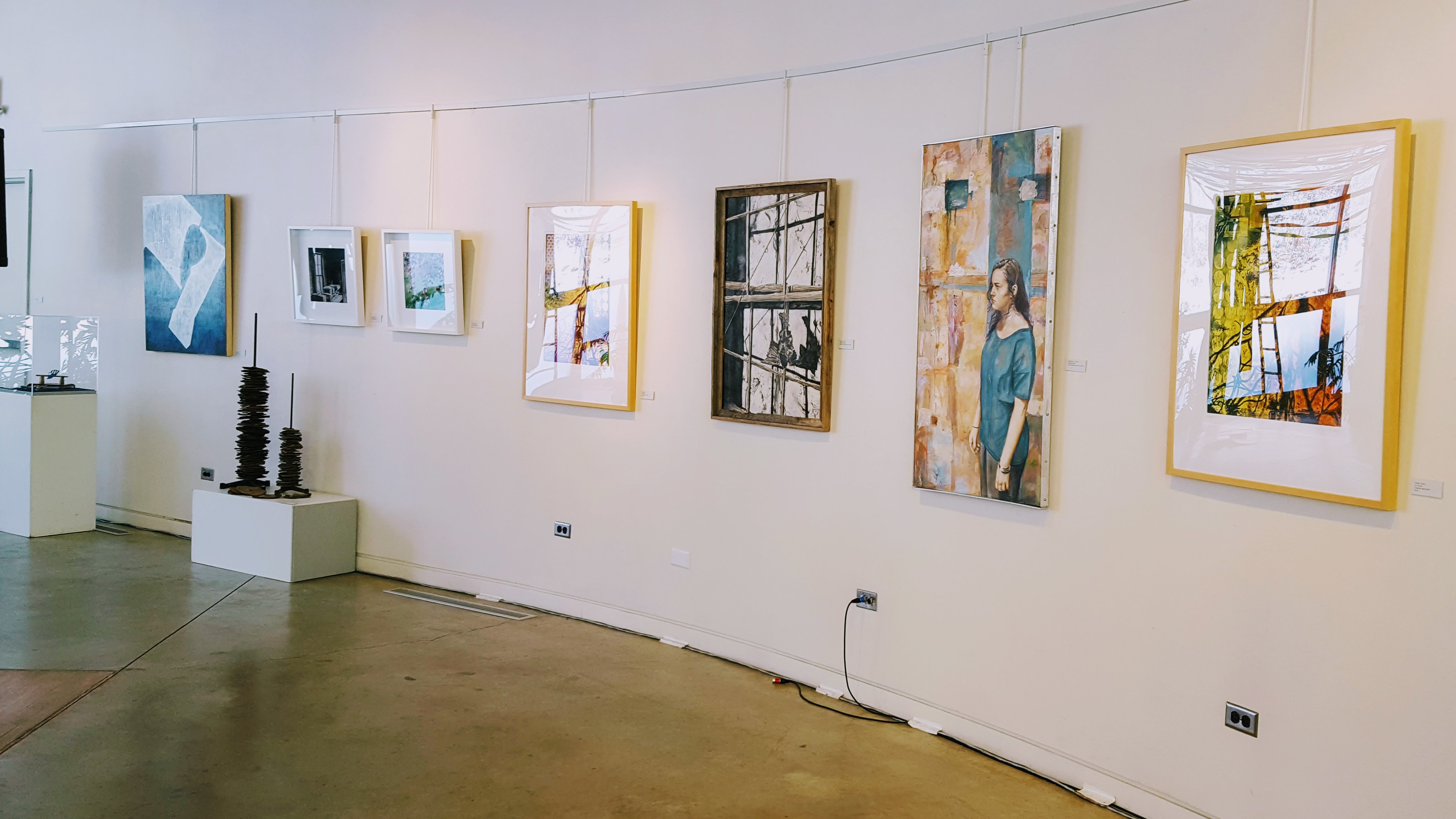 Passing Voices Exhibition - Installation View 1