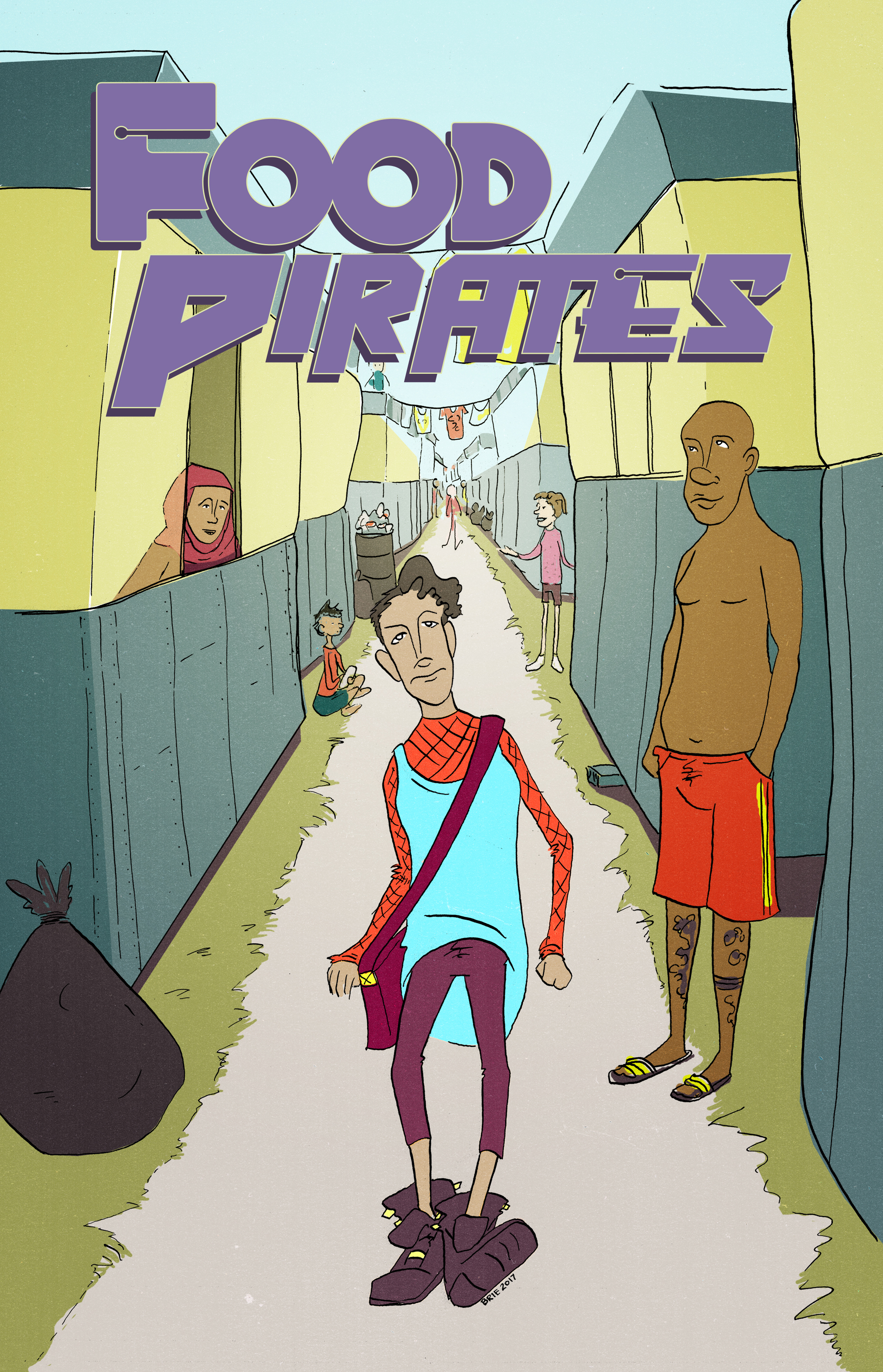 Food Pirates Issue 1 Cover by Brie Alsbury