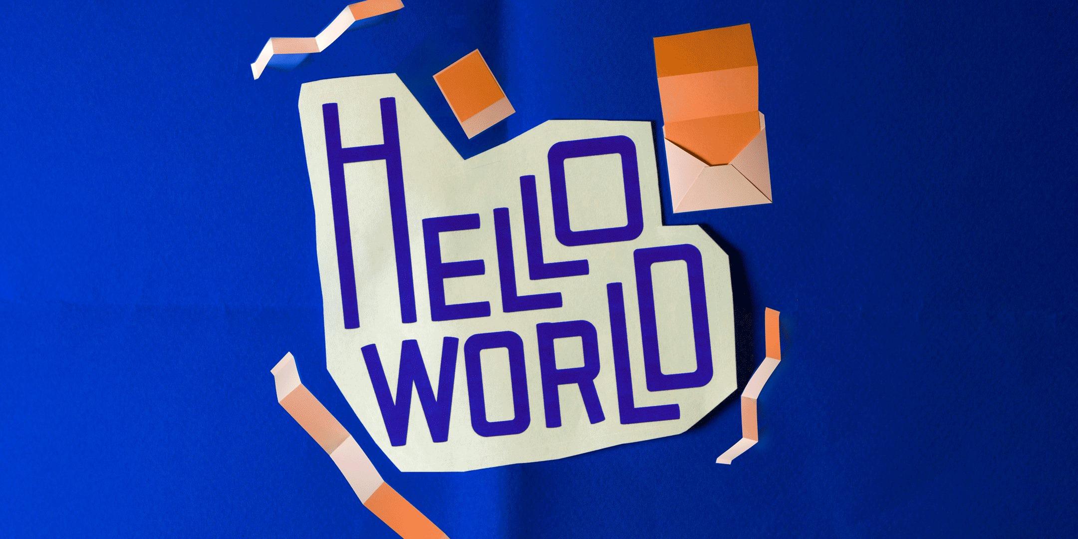Hello World - Graphic Design Senior Show '17