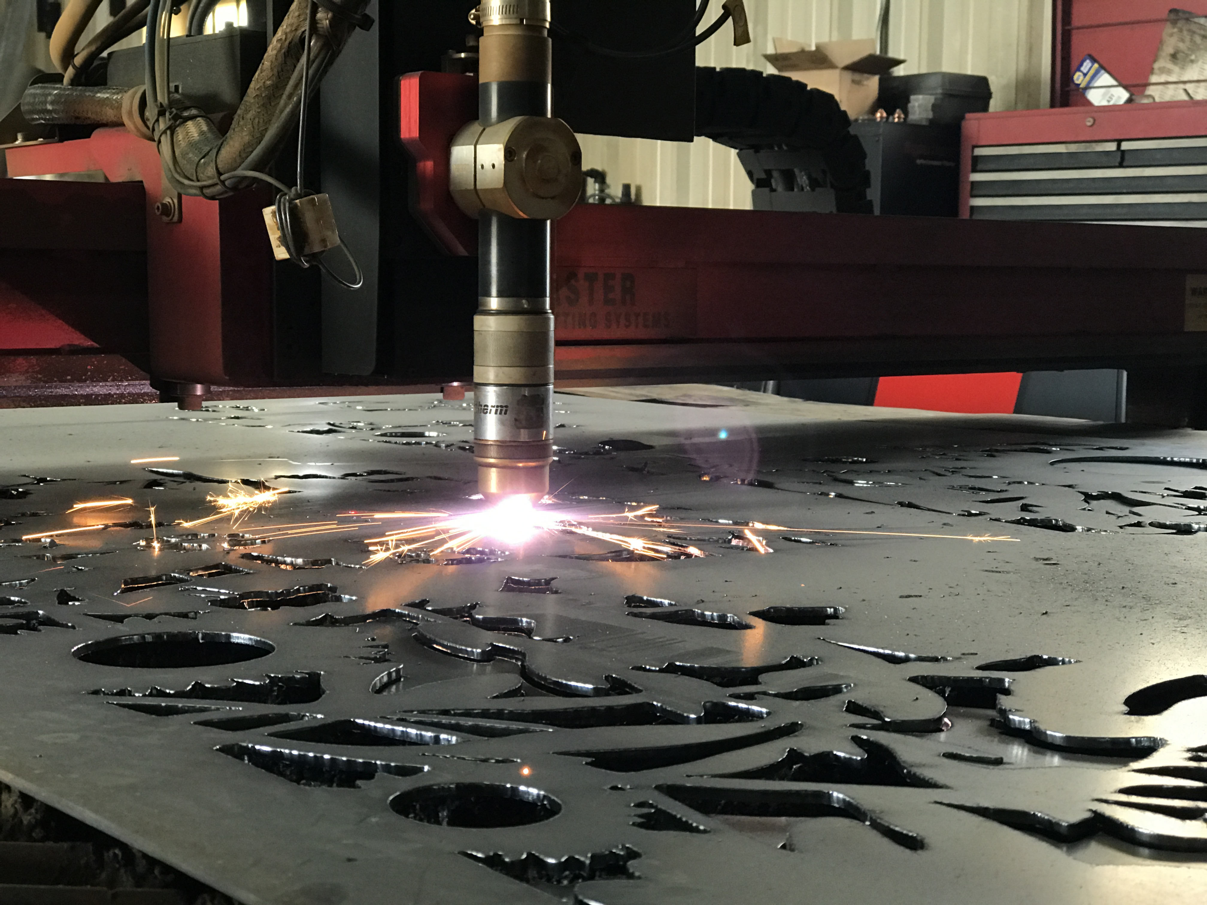 Prairie Revival Plasma Cutting