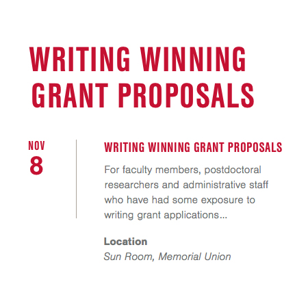 writing grant proposals examples