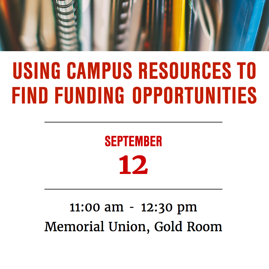 Using Campus Resources to Find Funding Opportunities