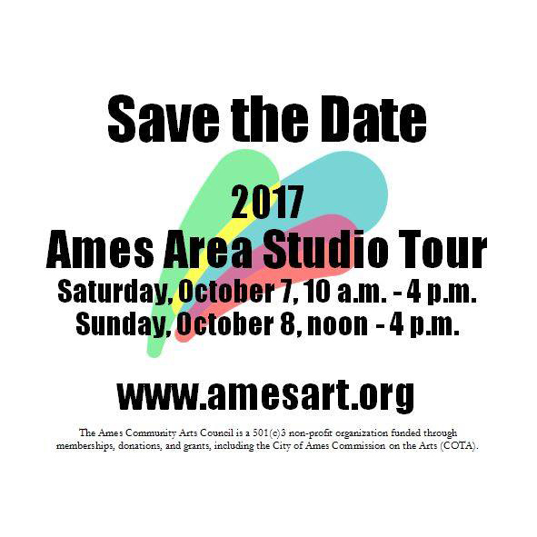 Ames Area Studio Tour 2017