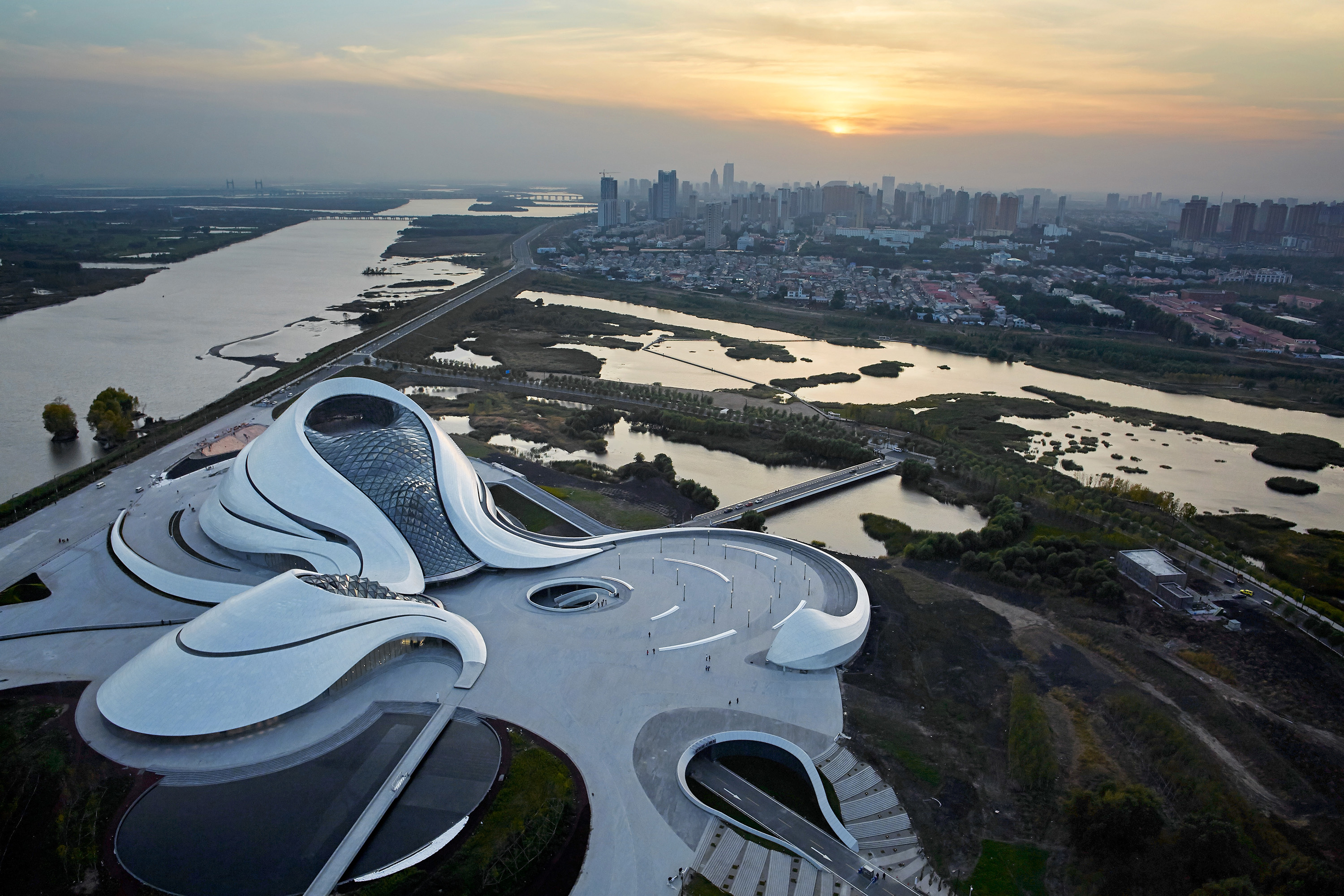 Harbin Opera House designed by MAD Architects