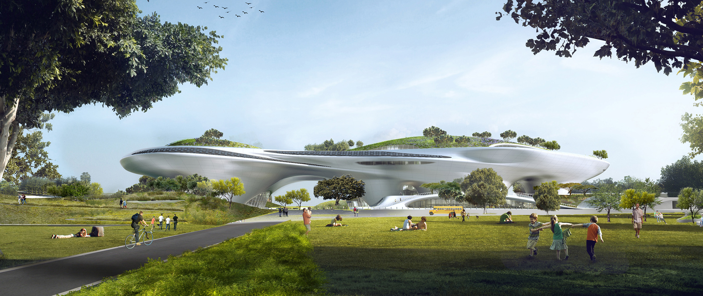 Lucas Museum of Narrative Art designed by MAD Architects