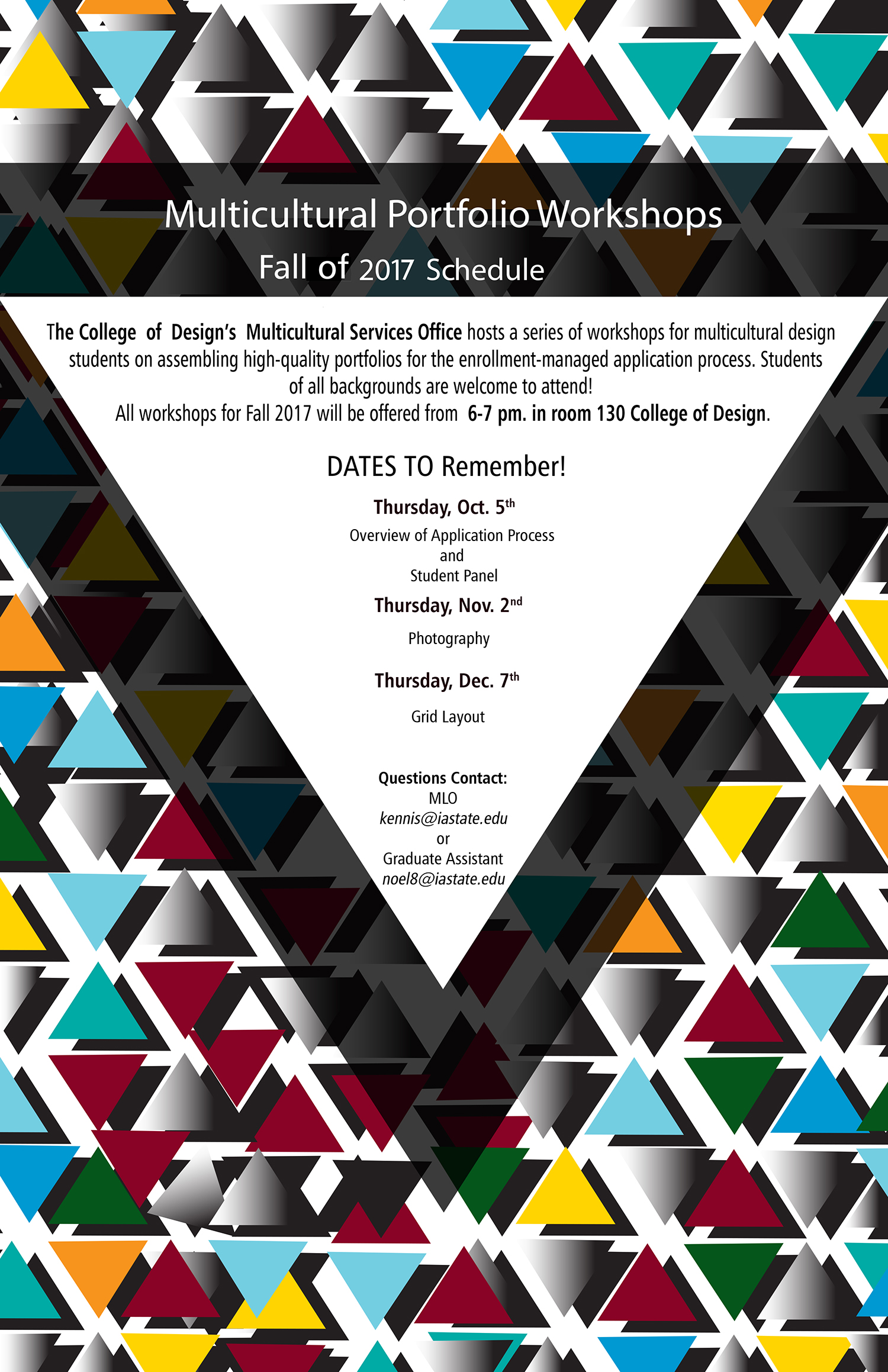 Multicultural Portfolio Workshops Fall 2017