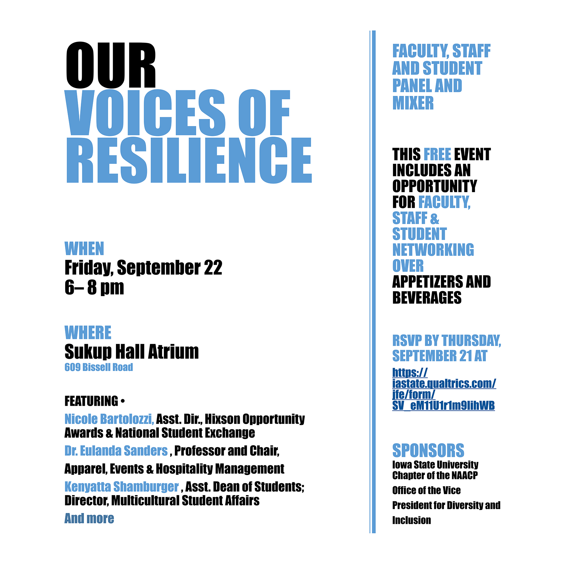 Our Voices of Resilience