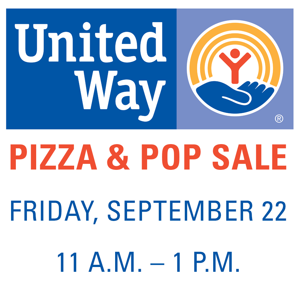 United Way Pizza & Pop Sept 22