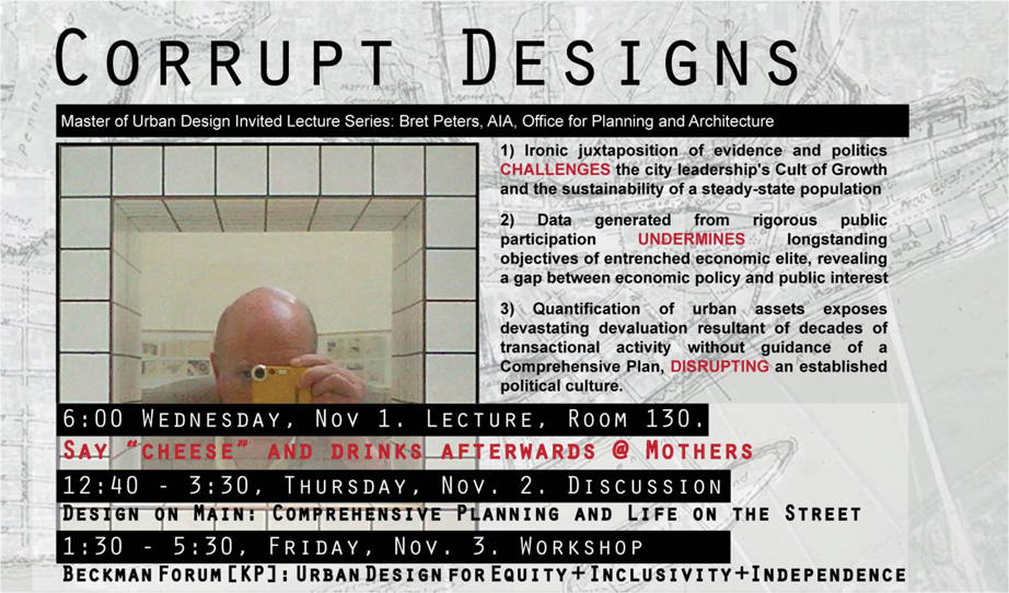 Bret Peters Lecture Poster