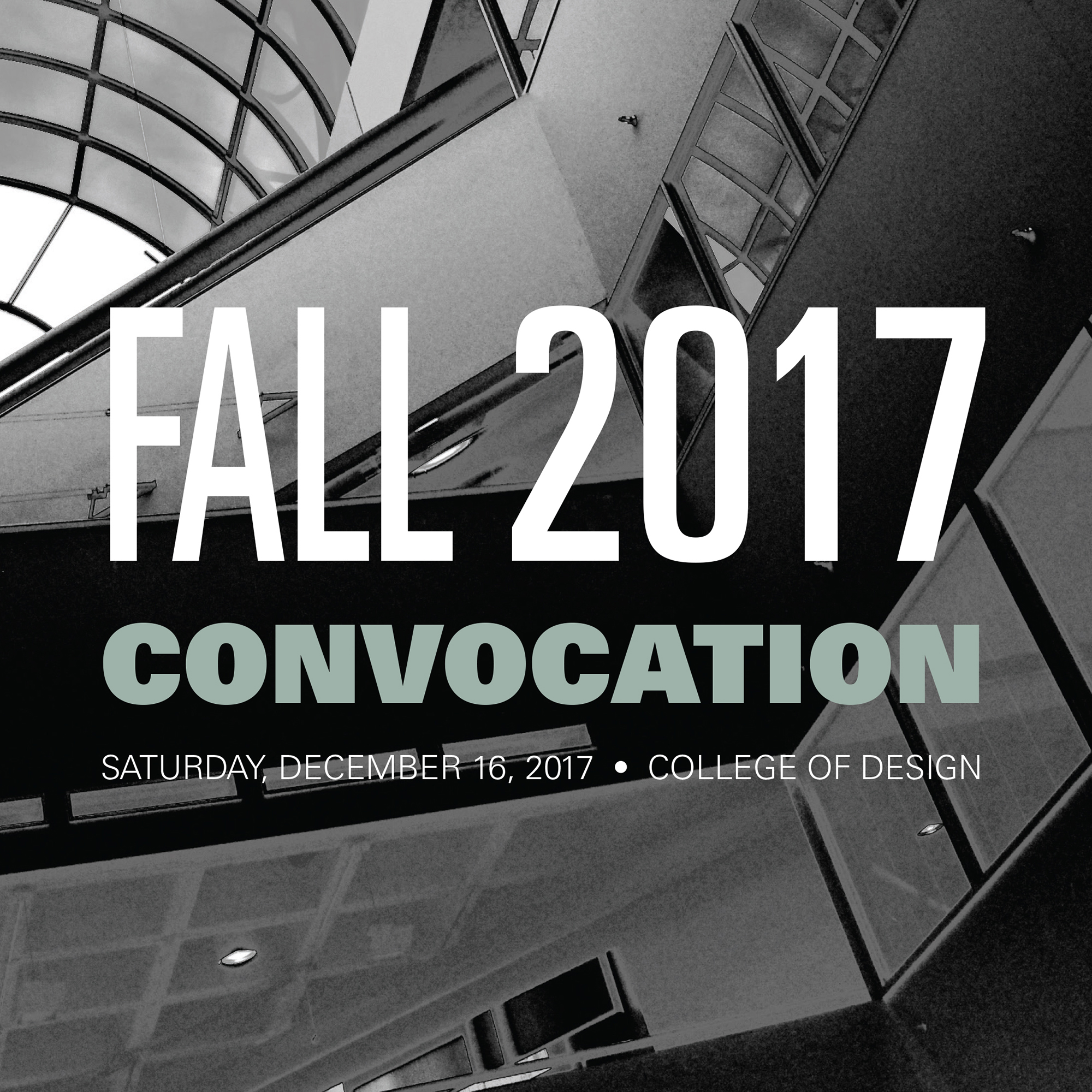 Fall 2017 Convocation