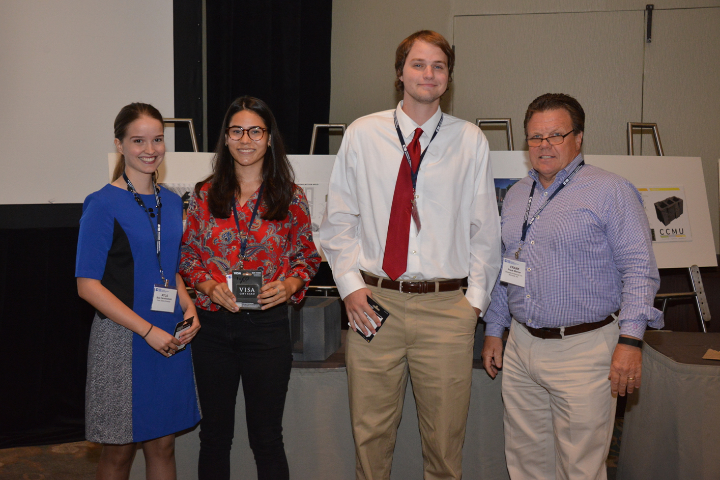NCMA Competition Winning Team from Iowa State