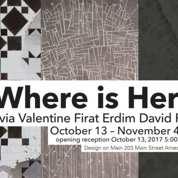 'Where Is Here?' exhibition opens Oct.