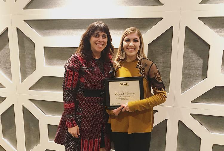Isu Interior Design Senior Wins Newh Chapter Scholarship Iowa State University College Of Design