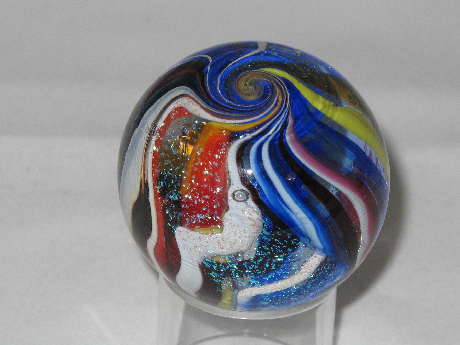 Glass Marble by Art Ciccotti
