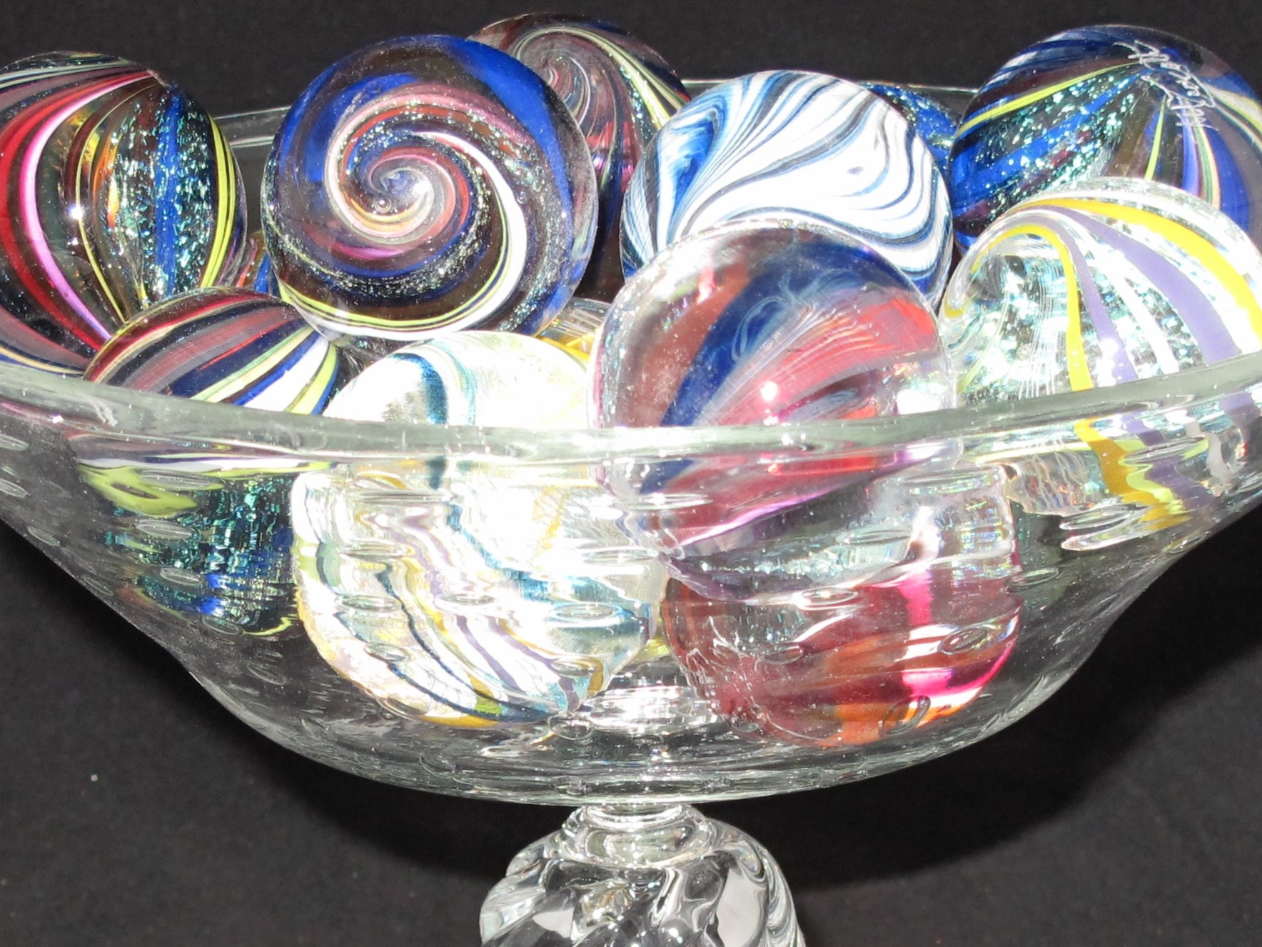 Tazza with Marbles by Art Ciccotti