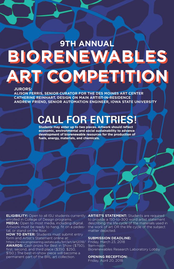 Biorenewables Art Competition 2018