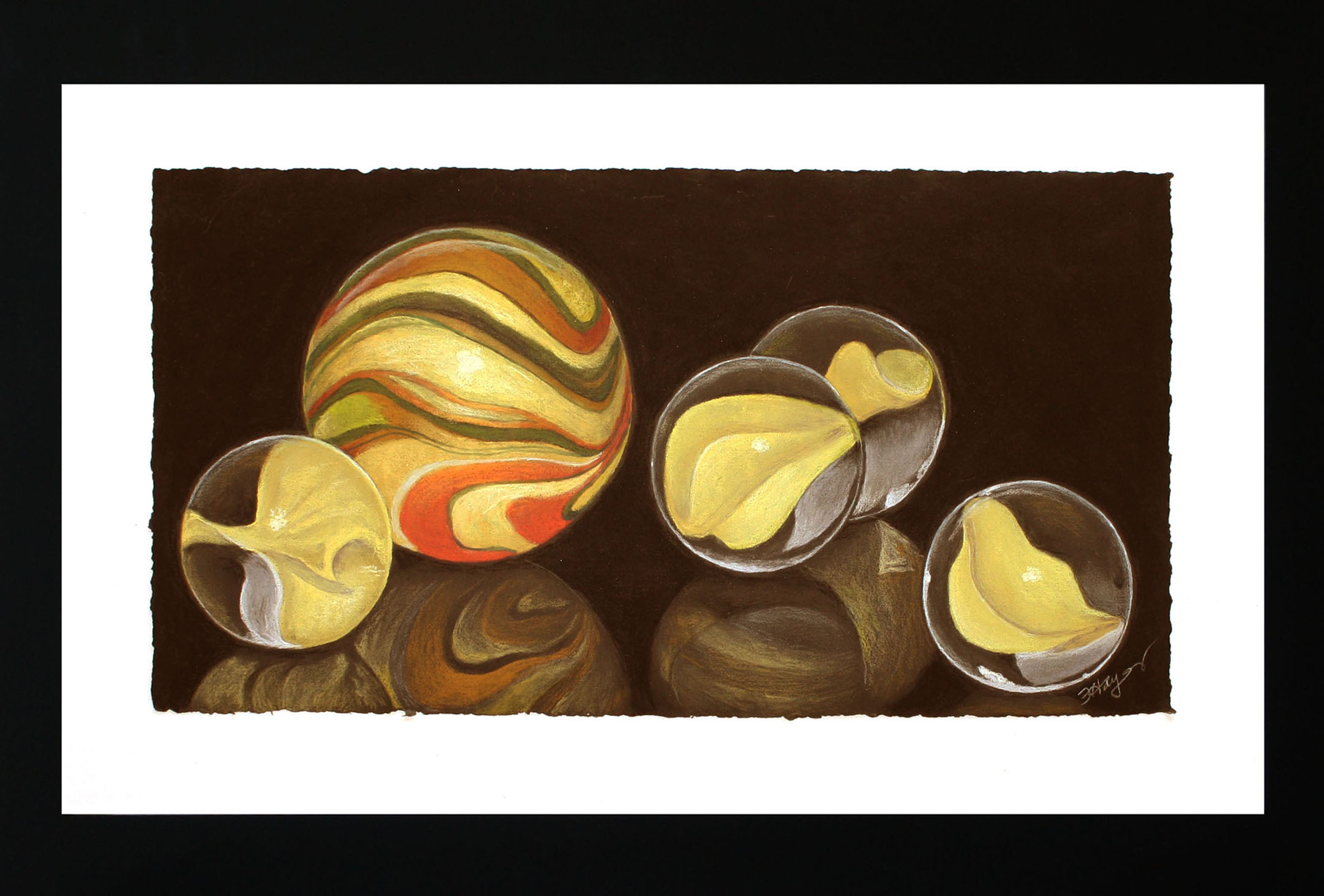 Italian Marbles by Flo Hayes