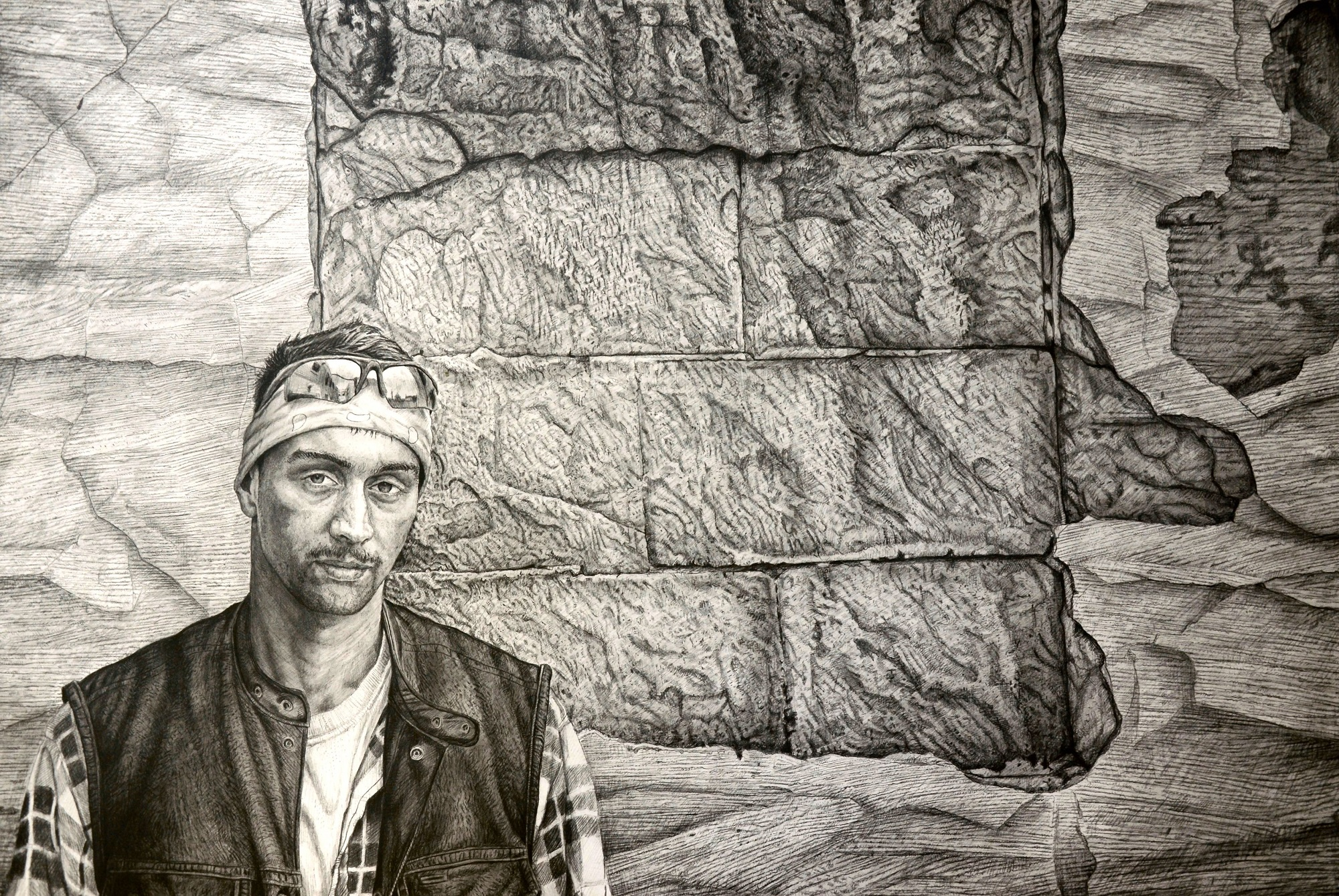 """Memento"" (24x36, graphite) by Robert Jinkins"