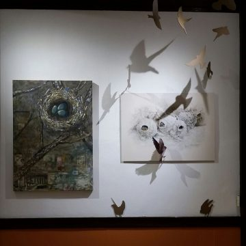 ISU artists exhibit work highlighting Ledges State