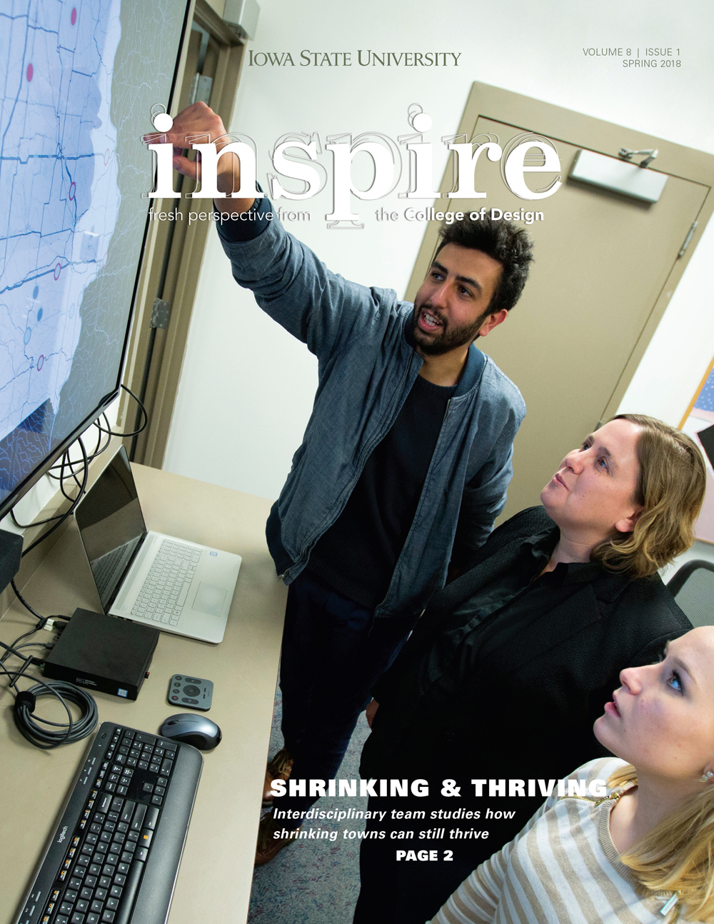 Inspire Spring 2018 Cover