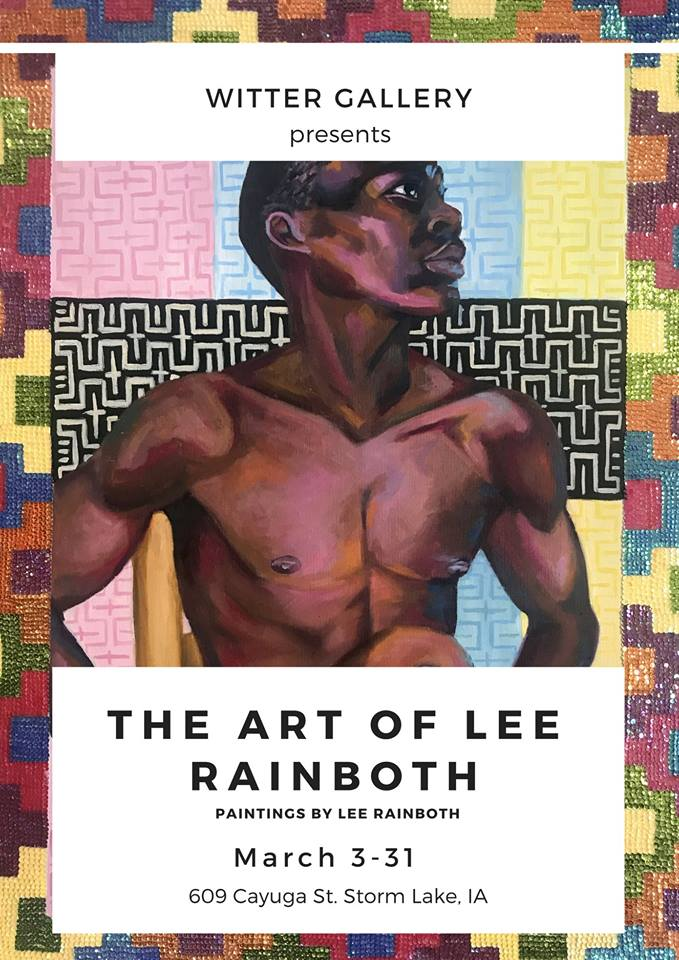 """The Art of Lee Rainboth"" exhibition at Witter Gallery"