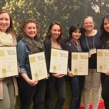 ISU landscape architecture students recognized wit
