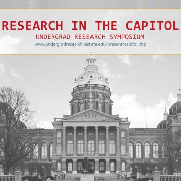 Research In The Capitol ISU College Of Design Students To Present Projects