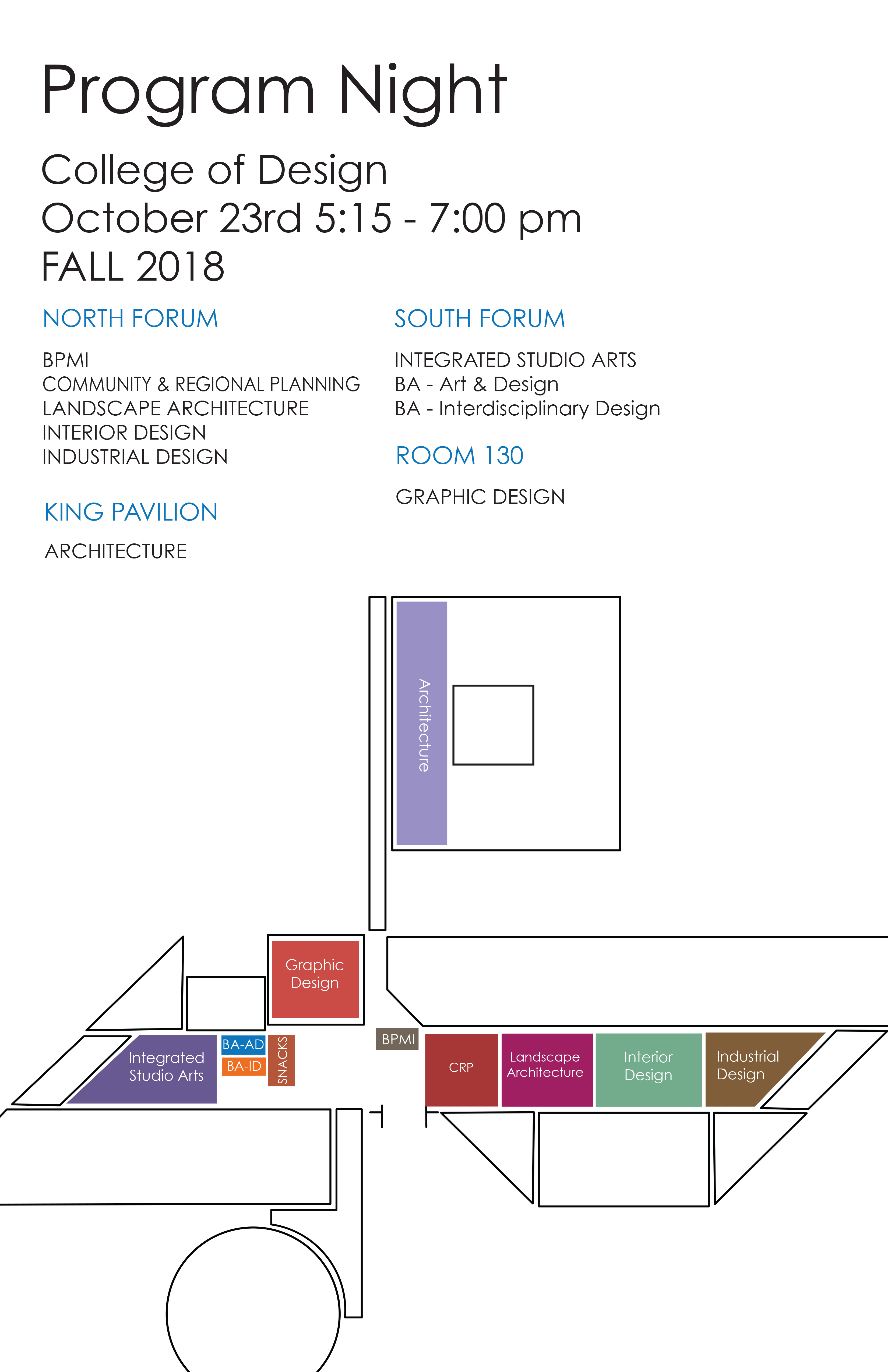 Program Night Fall 2018