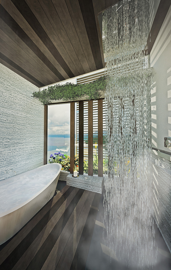 Rainforest Hotel & Spa Suite Shower