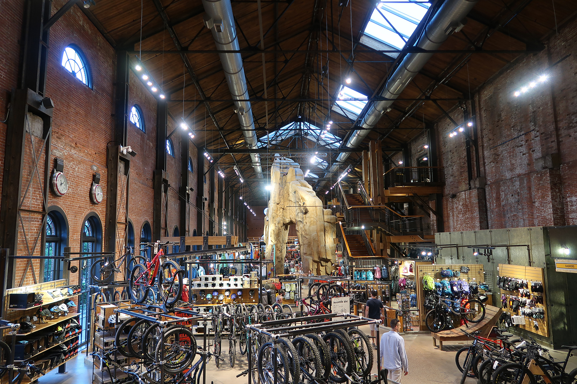 Historic REI flagship store, one of Denver's most successful adaptive-reuse projects