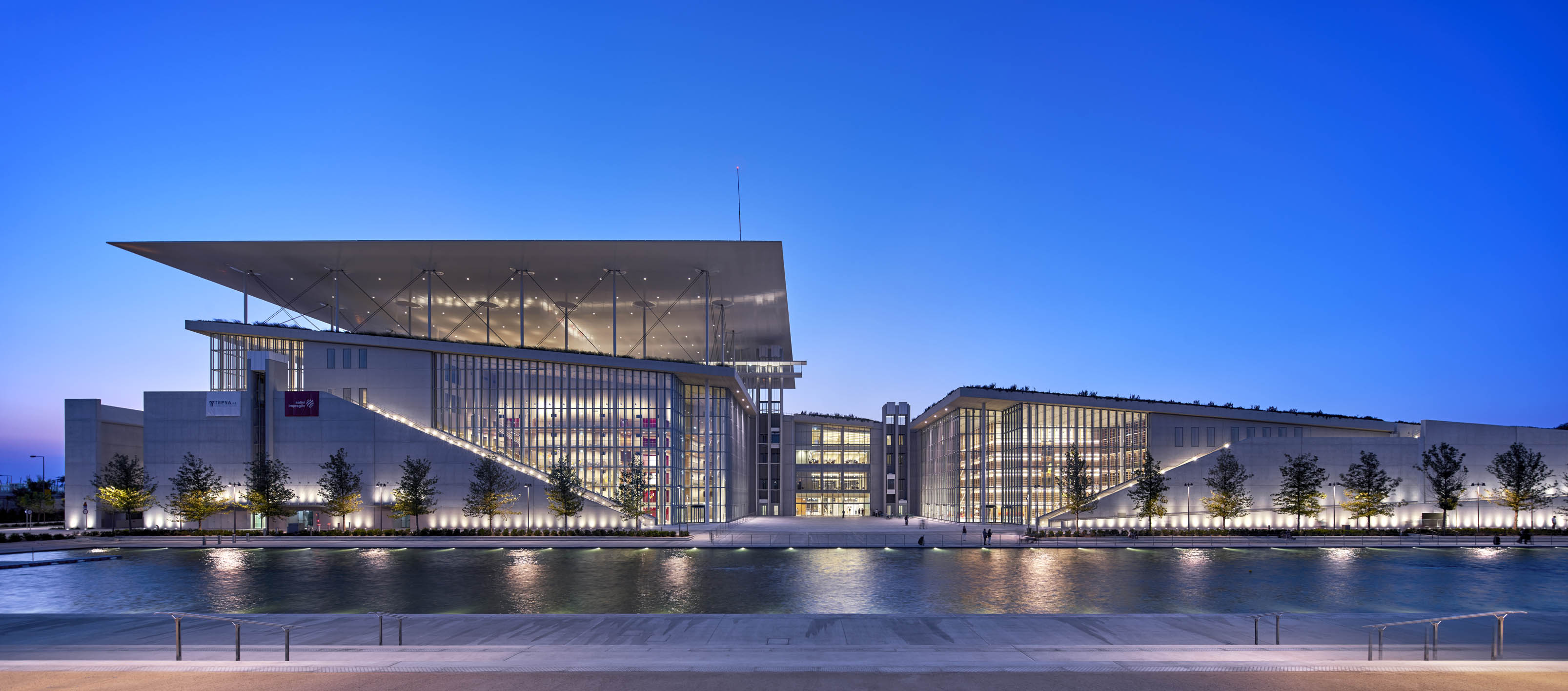 Stavros Niarchos Foundation Cultural Center (photo by Michel Denancé)