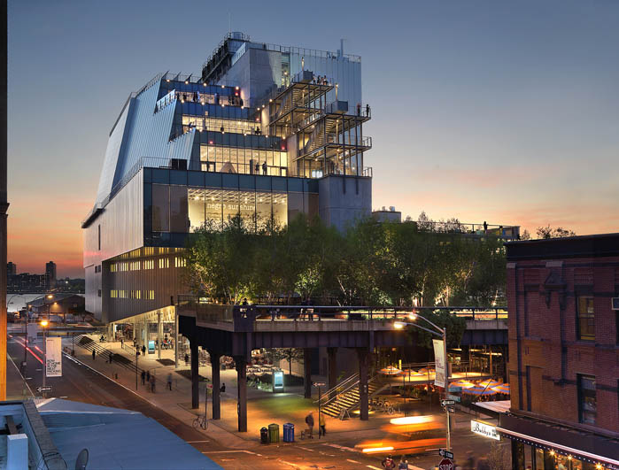 Whitney Museum of American Art (photo by Ed Lederman)