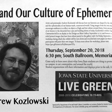 Art and Our Culture of Ephemerality: Andrew Kozlow