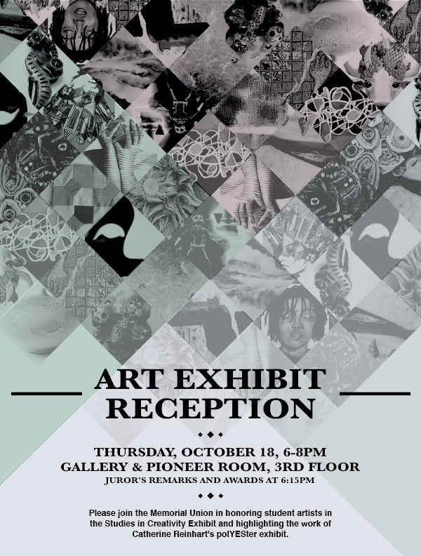 Studies In Creativity Exhibit Reception Oct 18
