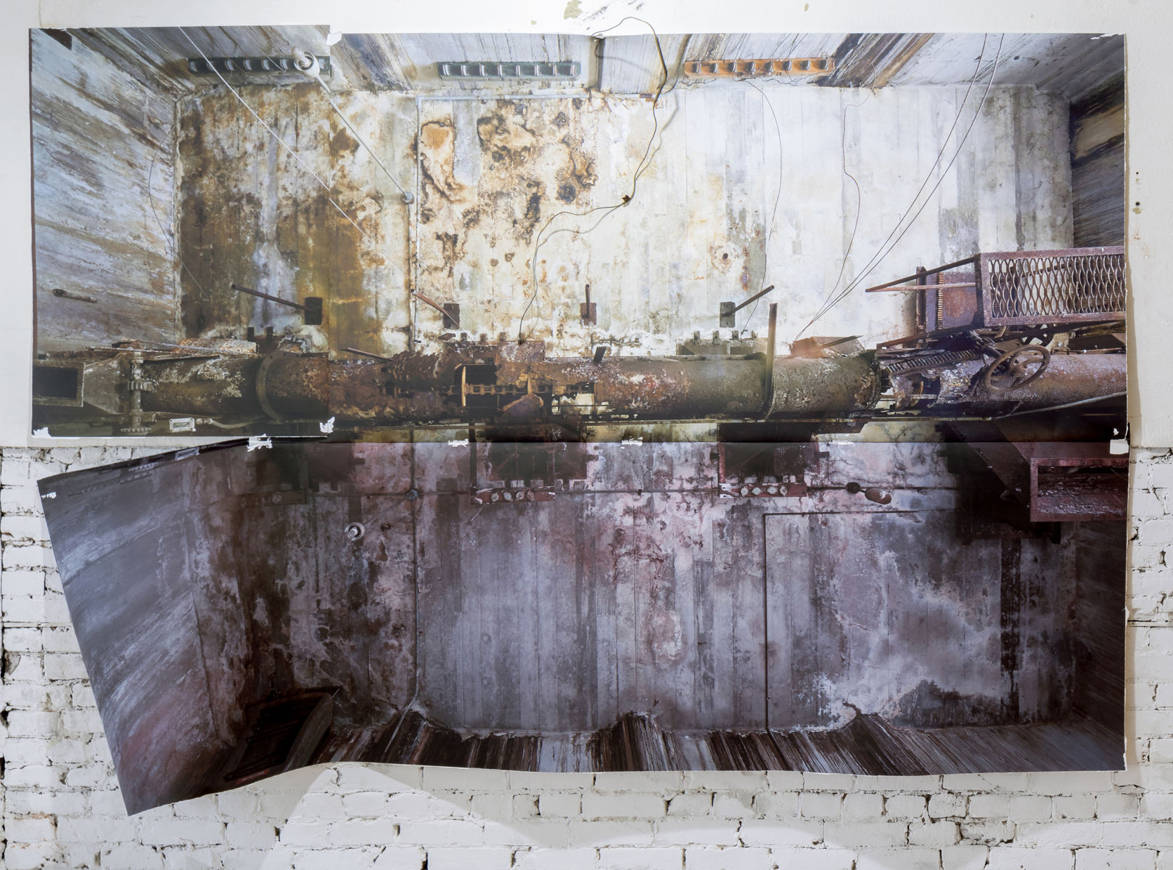 (OUT THERE) in Here: Surface Tension and the Spatial Apparatus exhibition by Pete Goche